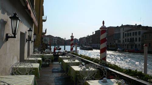 ベネチアのテラスの高画質画像