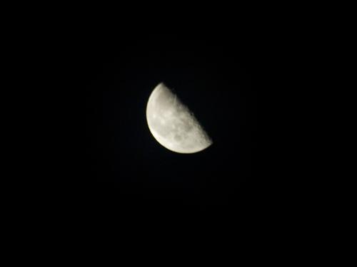 下弦の月 1の高画質画像