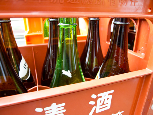 酒瓶の高画質画像