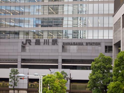 品川駅の高画質画像