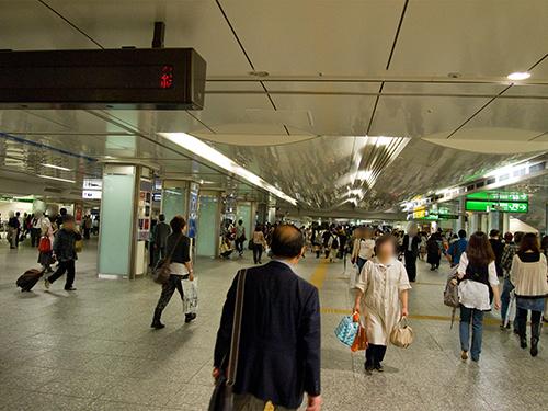 横浜駅の駅ナカ 1の高画質画像