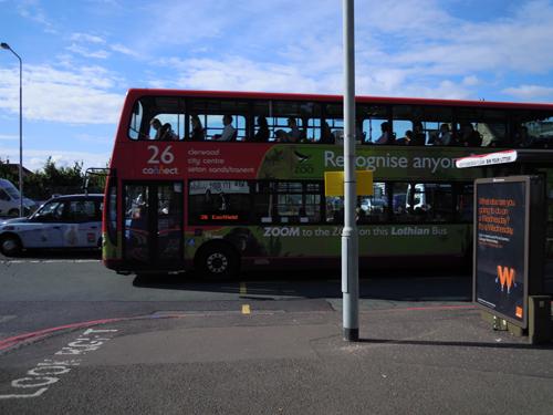 スコットランドのバス 1の高画質画像