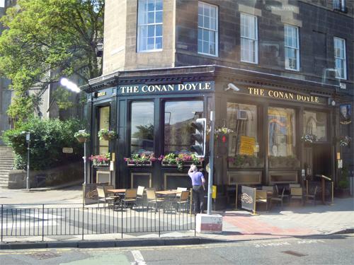 スコットランドの料理店の高画質画像