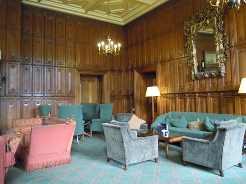 イングランドのホテルロビーの高画質画像
