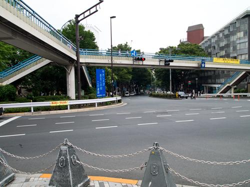 原宿の道路 1の高画質画像