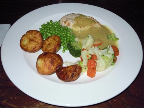 イギリスの食事の高画質画像