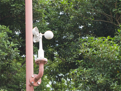 風測定装置の高画質画像