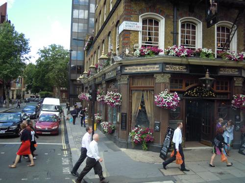 ロンドンの街並み 3の高画質画像