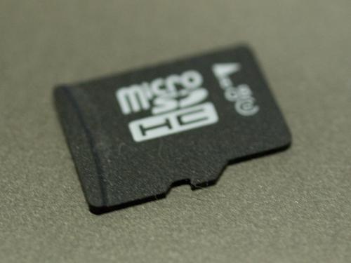 microSDメモリーカード 1の高画質画像