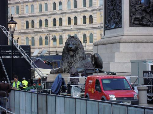 ライオン像の高画質画像