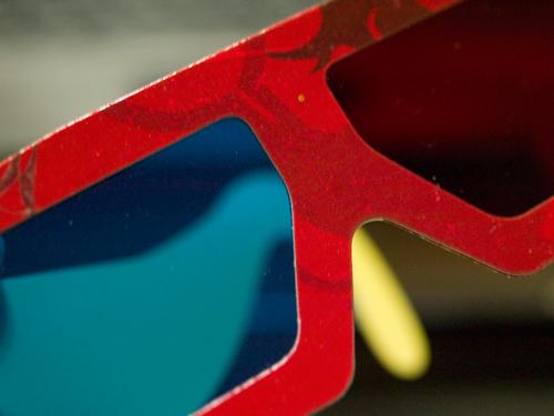 3Dメガネの高画質画像