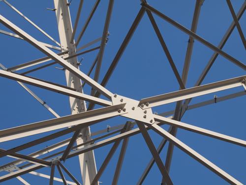 送電塔の高画質画像