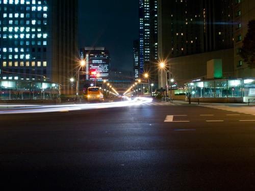 光跡、道路 3の高画質画像
