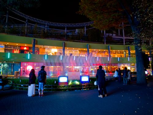 東京ドームシティの噴水ショー 1の高画質画像