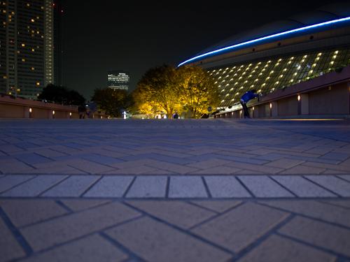 東京ドームシティの夜景の高画質画像