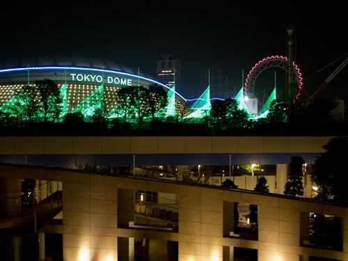 東京ドームイルミネーションの高画質画像