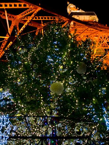 クリスマスイルミネーション 37の高画質画像