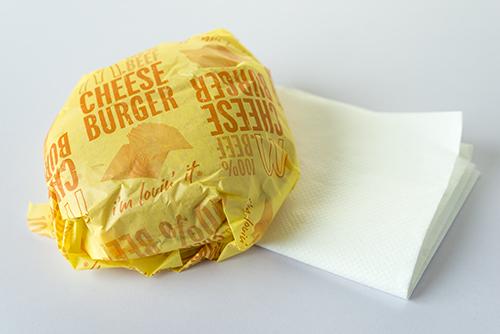 ハンバーガーの高画質画像