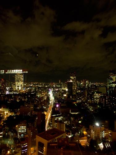 東京タワー、大展望台からの眺めの高画質画像