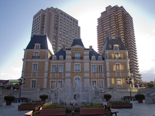 恵比寿ガーデンプレイス ロブション城の高画質画像
