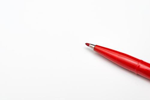 赤ペンの高画質画像