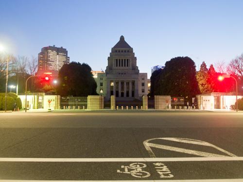 国会議事堂の高画質画像