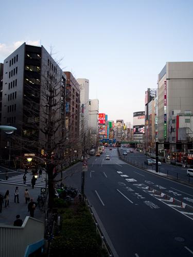 新宿の街並み 1の高画質画像