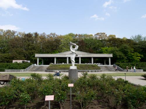 神代植物公園の中央広場 7の高画質画像