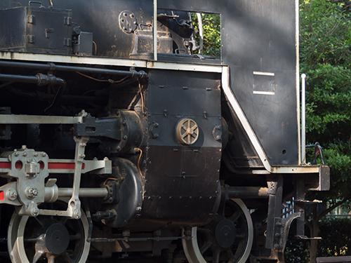 蒸気機関車C57、大蔵公園の高画質画像