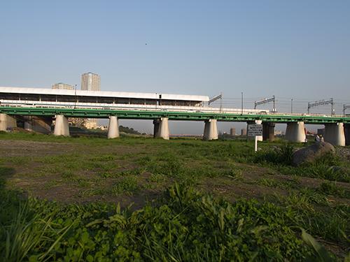 夕暮れの多摩川 2の高画質画像