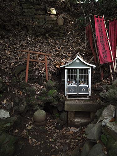 鳥居、小石川植物園の高画質画像