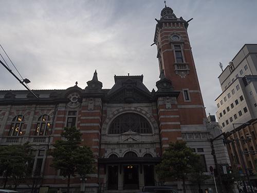 横浜市開港記念会館の高画質画像