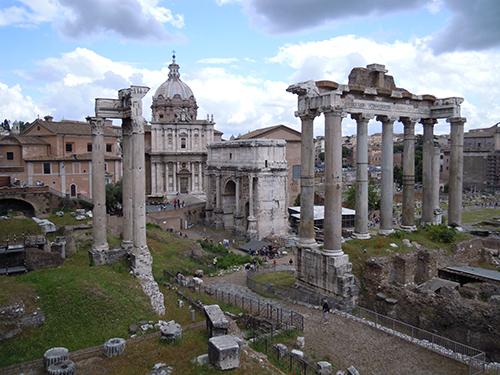 ローマ市内の高画質画像