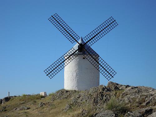 風車の町、スペイン 1の高画質画像