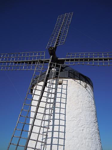 風車の町、スペインの高画質画像