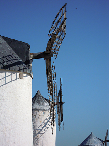 風車の丘、スペインの高画質画像
