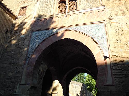 アルハンブラ宮殿の壁、グラナダ 2の高画質画像