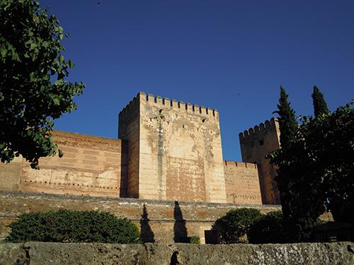 アルカサバ、アルハンブラ宮殿の高画質画像