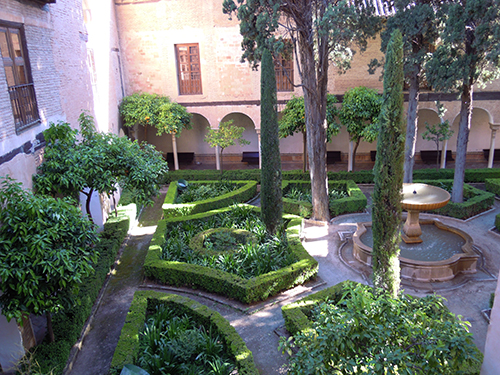 アルハンブラ宮殿の庭 3の高画質画像