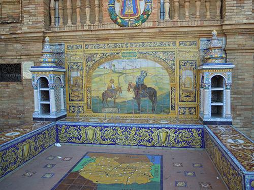 スペイン広場、セビリア 3の高画質画像