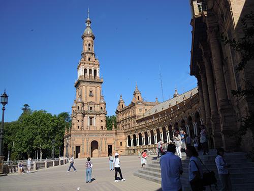 スペイン広場、セビリア 4の高画質画像