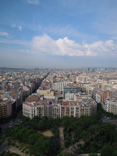 バルセロナの街並み 1の高画質画像