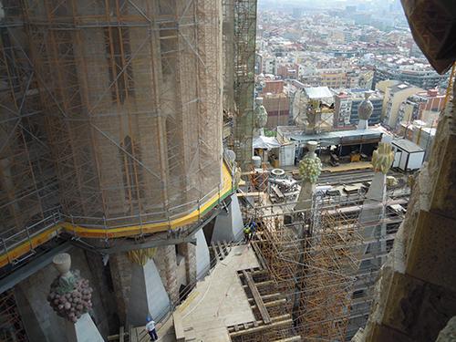 サグラダ・ファミリアの塔 1の高画質画像