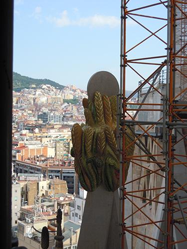 サグラダ・ファミリアの塔 2の高画質画像