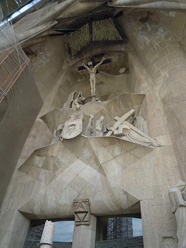受難のファザード、サグラダ・ファミリア 2の高画質画像