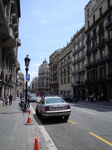 バルセロナの街並み 2の高画質画像