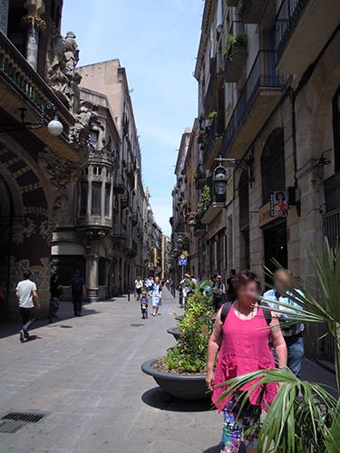 バルセロナの街並み 5の高画質画像