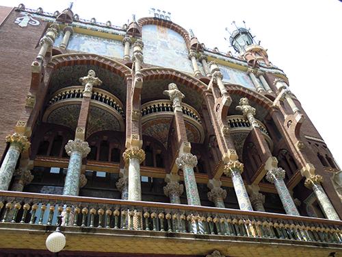 バルセロナの街並み 6の高画質画像