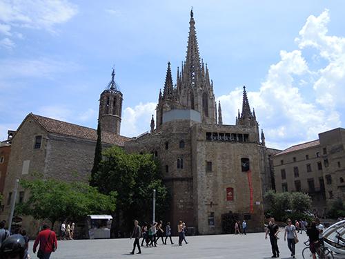 バルセロナ大聖堂 1の高画質画像