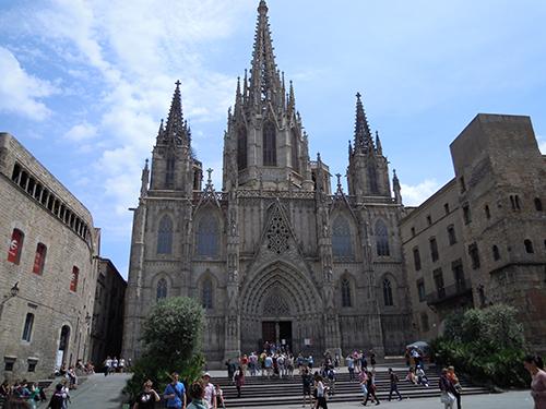 バルセロナ大聖堂 2の高画質画像